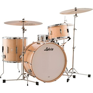 Ludwig 3-Piece Club Date Pro Beat Outfit with 24 in. Bass Drum by Ludwig