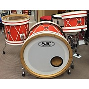 SJC Drums 3 Piece Custom Butcher Hoop Kit Drum Kit