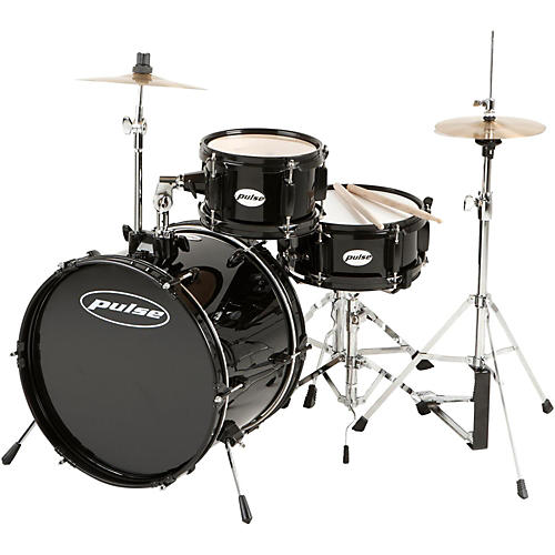 Pulse 3-Piece Deluxe Junior Drum Set-thumbnail