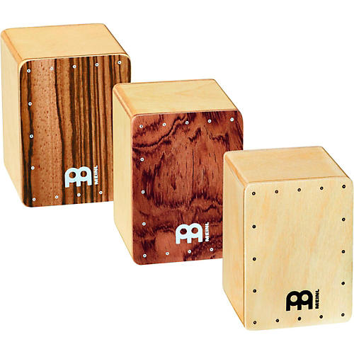 Meinl 3-Piece Mini Cajon Shaker Set-thumbnail