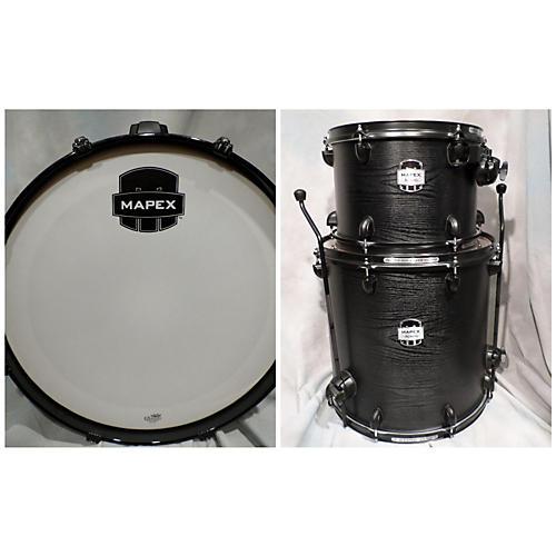 Mapex 3 Piece Mydentity BLACK Drum Kit-thumbnail