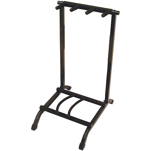 On-Stage Stands 3-Space Foldable Multi Guitar Rack-thumbnail