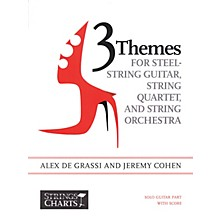 String Letter Publishing 3 Themes for Steel-String Guitar, String Quartet, String Orchestra: Intermediate Band Method by Cohen