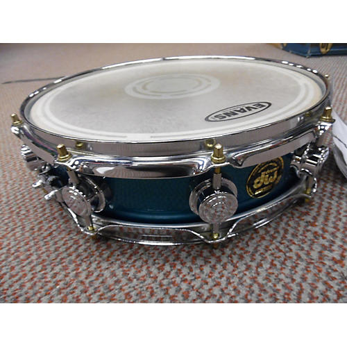 DW 3.5X14 Collector's Series Snare Green Drum-thumbnail