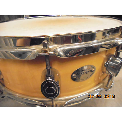 DW 3.5X14 Drums Workshop DW Workshop Series Snare Maple Early 2000's Drum-thumbnail