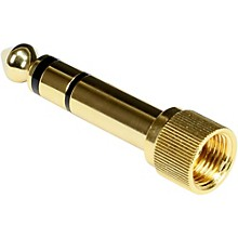 "Pig Hog 3.5mm (F) - 1/4"" (M) Threaded Stereo Adapter"