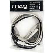 "Moog 3.5mm TS cables 12"" long for Mother-32 (Pack of 5)"
