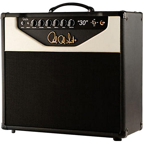 PRS 30 30W 1x12 Tube Guitar Combo Amp Black/White