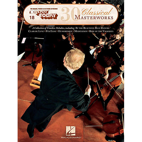 Hal Leonard 30 Classical Masterworks E-Z Play Today Volume 18-thumbnail
