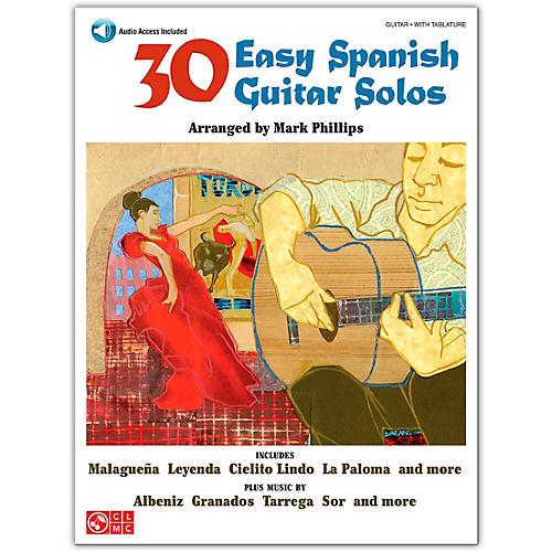 Cherry Lane 30 Easy Spanish Guitar Solos Book/Online Audio-thumbnail