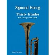 Carl Fischer 30 Etudes for Trumpet or Cornet by Sigmund Hering