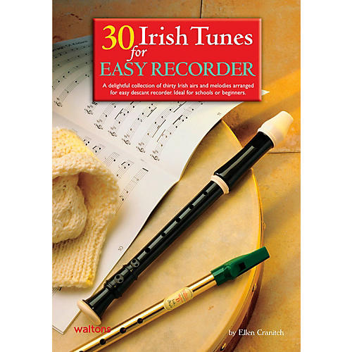 Waltons 30 Irish Tunes For Easy Recorder Book-thumbnail