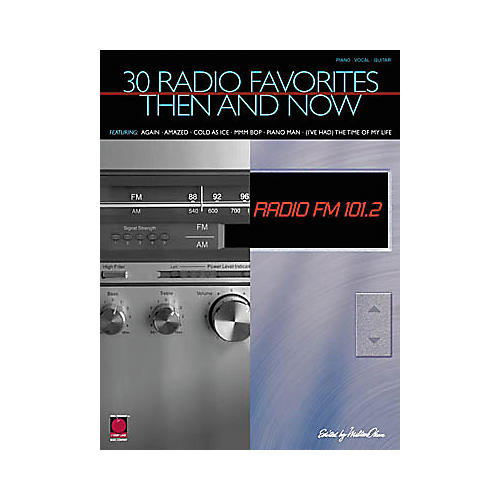 Cherry Lane 30 Radio Favorites Then and Now Book