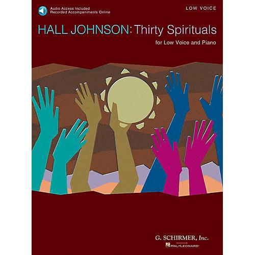 G. Schirmer 30 Spirituals for Low Voice Book/CD-thumbnail