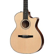 Taylor 300 Series 314ce-N Grand Auditorium Nylon String Acoustic-Electric Guitar