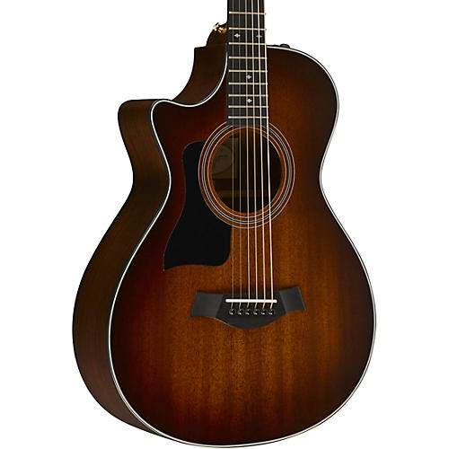 Taylor 300 Series 322ce 12-Fret Grand Concert Left-Handed Acoustic-Electric Guitar