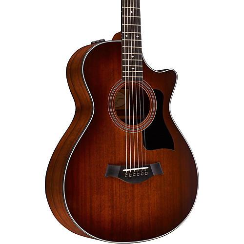 Taylor 300 Series 322ce-SEB 12-Fret Grand Concert Acoustic-Electric Guitar Shaded Edge Burst