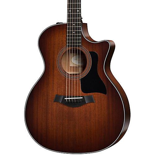 Taylor 300 Series 324ce Grand Auditorium Acoustic-Electric Guitar-thumbnail