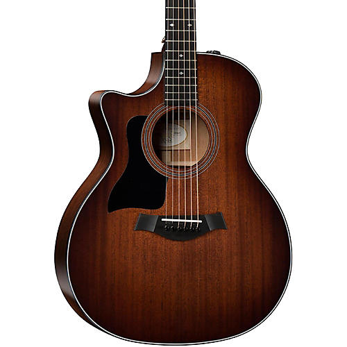 Taylor 300 Series 324ce-LH Grand Auditorium Left-Handed Acoustic-Electric Guitar-thumbnail