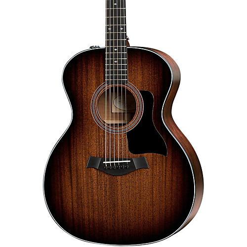 Taylor 300 Series 324e Grand Auditorium Acoustic-Electric Guitar-thumbnail