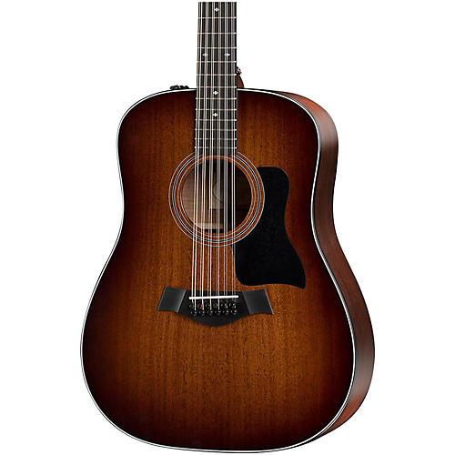 Taylor 300 Series 360e-SEB Dreadnought 12-String Acoustic-Electric Guitar-thumbnail