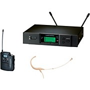 Audio-Technica 3000 Series Headworn Wireless Microphone System / D Band