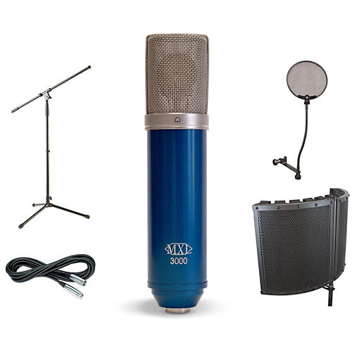 MXL 3000 VS1 Stand Pop Filter and Cable Kit-thumbnail
