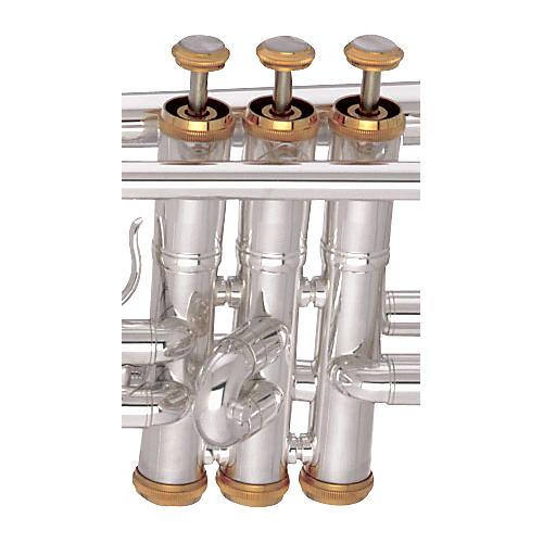 Getzen 3003 Genesis Trumpet Trim Kit Beaded Silver Plate
