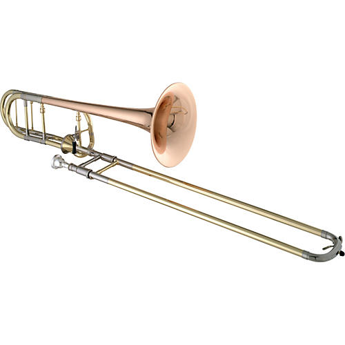Getzen 3047AF Custom Series F Attachment Trombone Lacquer Red Brass Bell-thumbnail