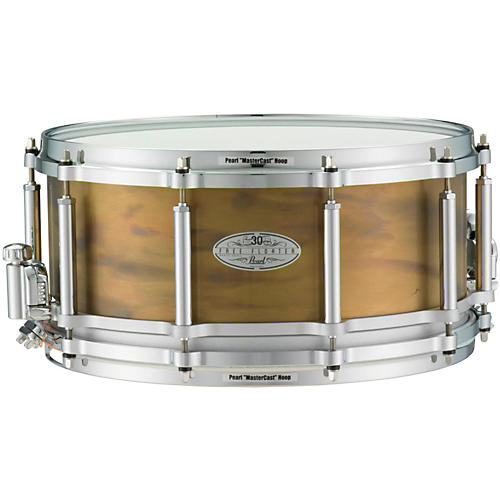 Pearl 30th Anniversary Free Floating Brass Snare Drum 14 x 6.5 in.
