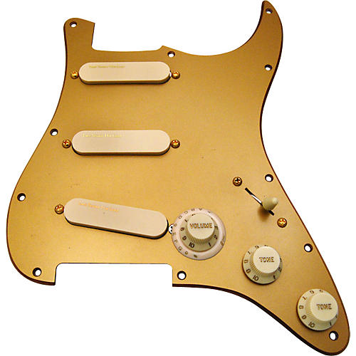 Lace 30th Anniversary Hot Gold Sensors Loaded Pickguard