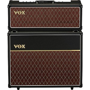 Vox 30 Watt Custom Tube Guitar Amp Head with 2x12 Cabinet