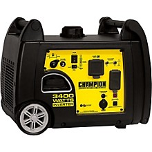 Champion Power Equipment 3100/3400 Watt Portable Gas-Powered Inverter Generator