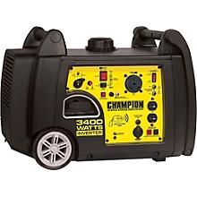 Champion Power Equipment 3100/3400 Watt Portable Gas-Powered Remote Start Inverter Generator
