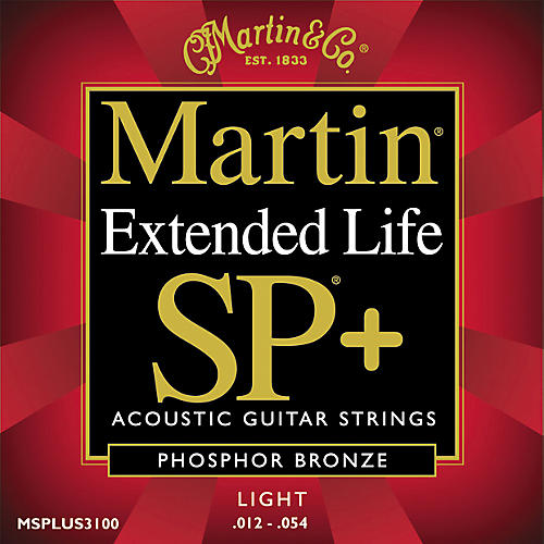 Martin 3100 Coated SP Plus Extended Life Light Acoustic Guitar Strings-thumbnail
