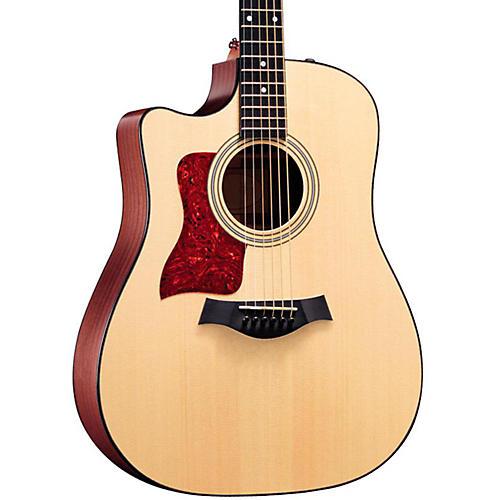 Taylor 310ce-L Sapele/Spruce Dreadnought Left-Handed Acoustic-Electric Guitar Natural-thumbnail
