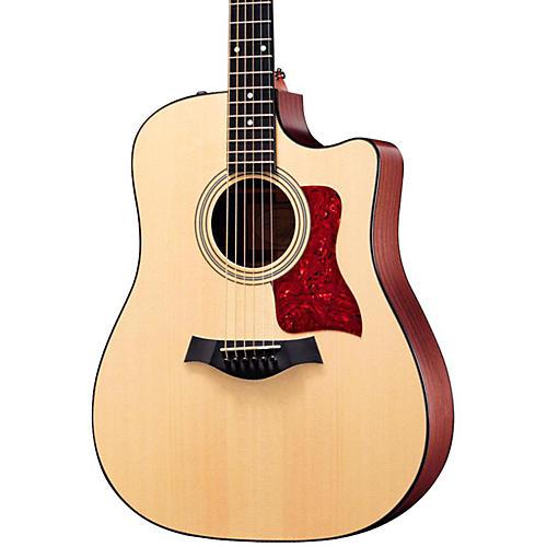 Taylor 310ce Sapele/Spruce Dreadnought Cutaway Acoustic-Electric Guitar-thumbnail
