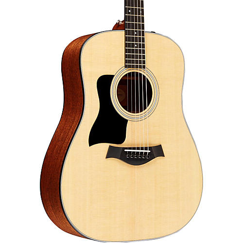 Taylor 310e Sapele/Spruce Dreadnought Left Handed Acoustic-Electric Guitar Natural