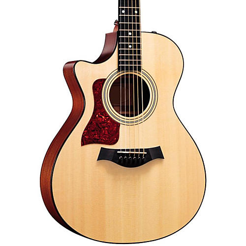 Taylor 312ce-L Sapele/Spruce Grand Concert Left-Handed Acoustic-Electric Guitar