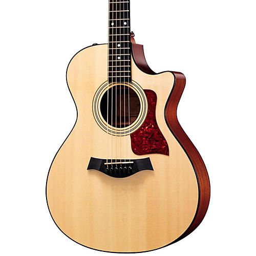 Taylor 312ce Sapele/Spruce Grand Concert Acoustic-Electric Guitar Natural