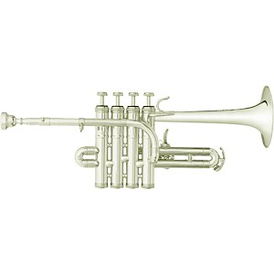 B&S 3131 Challenger II Series Bb/A Piccolo Trumpet by BS