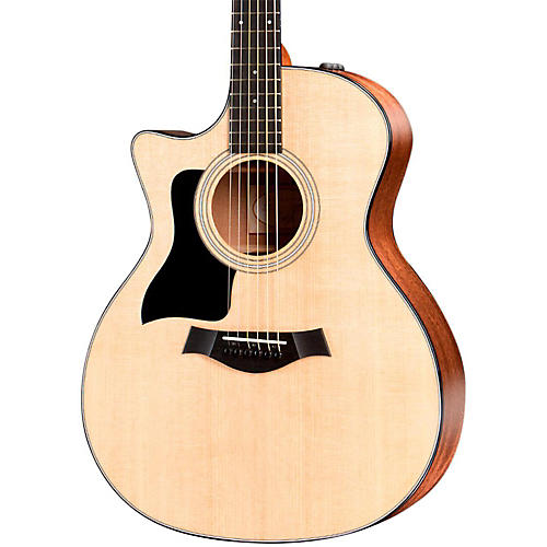 Taylor 300 Series 314ce-LH Grand Auditorium Left-Handed Acoustic-Electric Guitar Natural