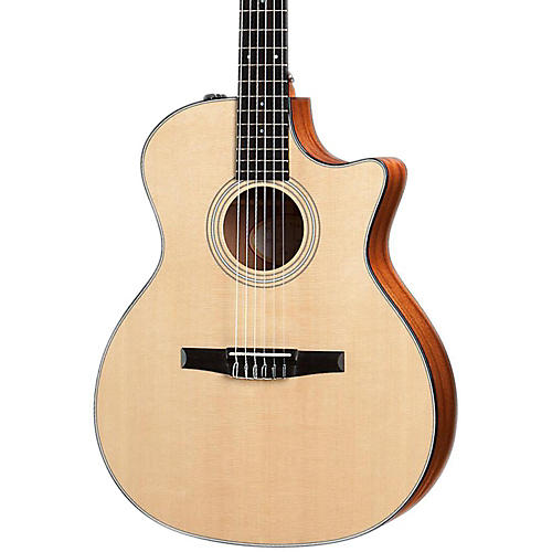 Taylor 314ce-N Sapele/Spruce Nylon String Grand Auditorium Acoustic-Electric Guitar Natural