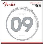 Fender 3150L Original 150 Pure Nickel Bullet-End Electric Guitar Strings - Light
