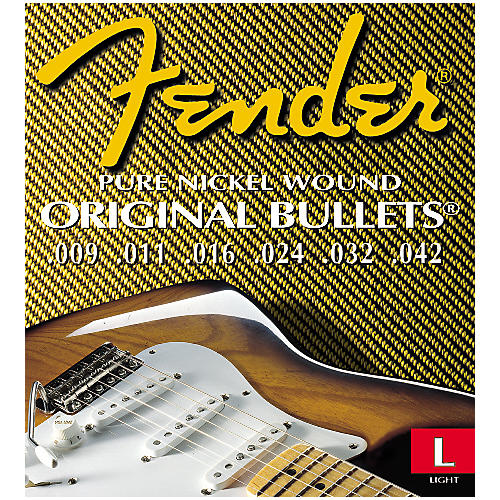 Fender 3150L Original 150 Pure Nickel Bullet End Strings 2-Pack