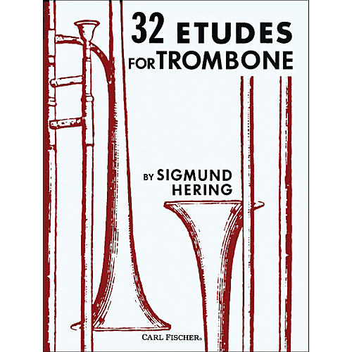 Carl Fischer 32 Etudes for Trombone
