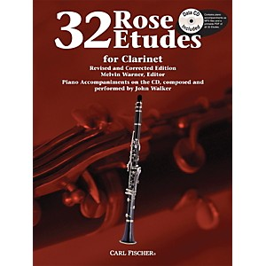 Carl Fischer 32 Rose Etudes for Clarinet by Carl Fischer