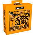 Ernie Ball 3222 Nickel Hybrid Slinky Electric Guitar Strings 3-Pack thumbnail