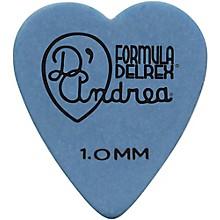 D'Andrea 323 Heart Delrex Delrin Picks - One Dozen