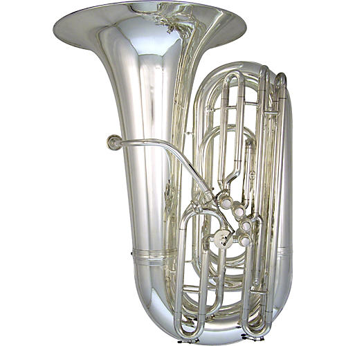 Kanstul 33-S Side Action Series 5-Valve 4/4 BBb Tuba 33-S Silver